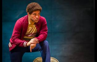 David Heron as Tony Welsh in 'Marley – The Musical'.